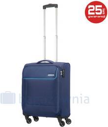 Samsonite AT by Mała kabinowa walizka AT FUNSHINE 75507 Granatowa - granatowy