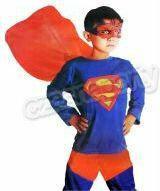 Przebranie dziecięcy superman 1 kpl.