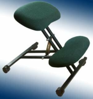Klękosiad - krzesło rehabilitacyjne (szary)