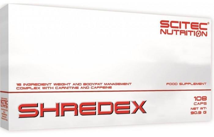 Scitec Nutrition Shredex 108 - kaps.