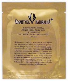 Kosmetyka Naturalna ELD Kolagenowa Maseczka z ekstraktem z kawioru
