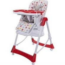 Sun Baby Krzesełko do karmienia Laura Czerwona
