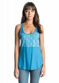 Roxy T-Shirt basic bez rękawów a 2015 niebieski