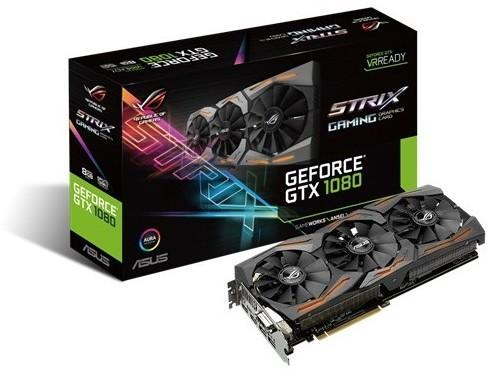 Asus GeForce GTX 1080 OC VR Ready