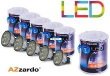 Azzardo Zestaw 5szt. żarówek LED 7W MR16
