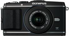 Olympus Pen E-P3 + 14-42 + 40-150 kit czarny