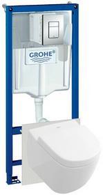 Grohe Stelaż podtynkowy WC RAPID SL 5w1 z miską SUBWAY 2.0 compact Villeroy&