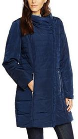 GINA LAURA Kurtka Gina Laura Steppjacke dla kobiet, kolor: niebieski, rozmiar: 52 (rozmiar producenta: XXL) B01K6UT1TY