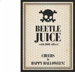 Opinie o Etykiety na alkohol Beetle juice, 1op.