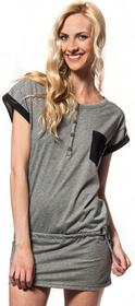 Horsefeathers T-shirt damski LUNO Top (heather gray)