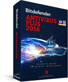 BitDefender Antivirus Plus 2016 (3 stan. / 1 rok) - Nowa licencja