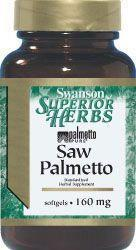 SWANSON Saw Palmetto extract 120 szt.