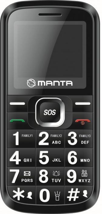 Manta TEL2003N Czarny
