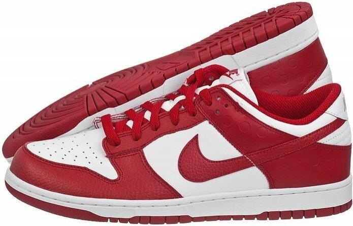 Nike Dunk Low 318019-103 biało-czerwony