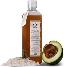 Organiczny Szampon do tłuste z Glinką z Jeziora Sakskiego, White Mandar