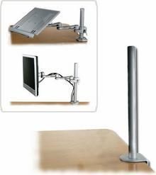Lindy 40692 - Drążek montażowy do blatu biurka przeznaczone do 40695, 40696, 40697 -