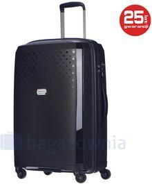 Puccini Średnia walizka HAVANA PP010B 1 Czarna - czarny
