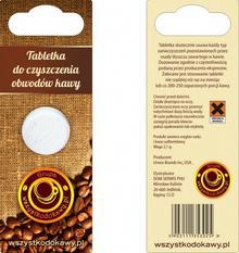 WDK URNEX Tabletka czyszcząca obwody kawy na blistrze 5903111353025