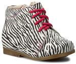 Falcon Trzewiki 4671 Zebra skóra naturalna/licowa