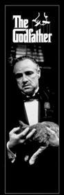 The Godfather (Cat B&W) - Plakat
