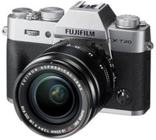 FujiX-T20 + 18-55 srebrny