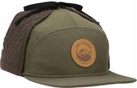 Coal czapka z daszkiem The Tracker Olive 03)