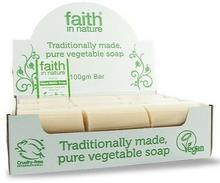 Faith In Nature Organiczne mydła z konopi 18sztuk x 100g -