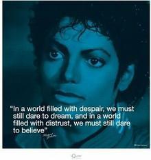 Michael Jackson (życiowe cytaty) - reprodukcja