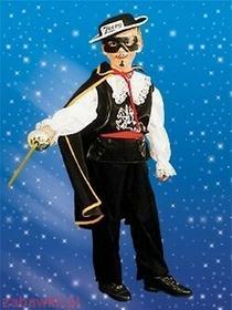 Sezamik STRÓJ karnawałowy Zorro 0060