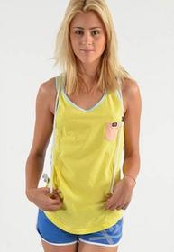 K1X koszulka - Pocket Tank Top Yellow/Peach (2611) rozmiar: XS