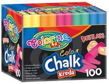 Kreda Patio Colorino Kids kolorowa bezpył x100