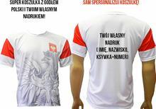 T-shirt Z ORŁEM GODŁEM POLSKI I TWOIM WŁASNYM NADRUKIEM