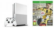 Microsoft Xbox One S Biały 500GB + FIFA 17 + 6M XBL