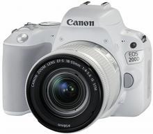 Canon EOS 200D + 18-55 IS STM biały
