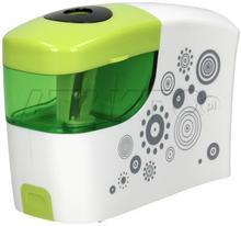 TETIS Temperówka automatyczna na baterie zielono-biała MC5953