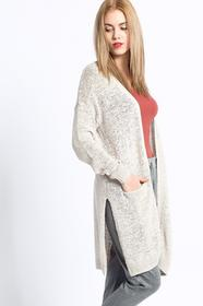 Review Sweter - - Kardigan Basic Tapeyarn beżowy 00768502754