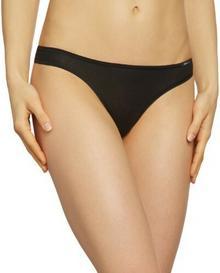 Skiny Stringi dla kobiet, kolor: czarny, rozmiar: 38 (38)