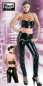 Black Level Winylowy komplet top + spodnie M 28507881030