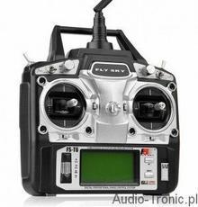 FlySky FS-T6 6CH 2.4GHz + Odbiorniki R6B FS/T6