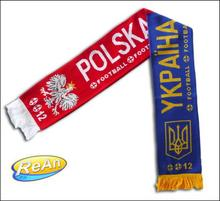 Szalik KIBICA 2 wzory POLSKA-UKRAINA