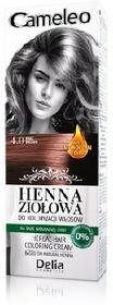 DELIA Delia Cosmetics Cameleo Henna Ziołowa 4.0 brąz