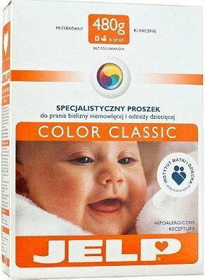 Jelp Color proszek do prania bielizny i odzieży niemowlęcej 5720233858814