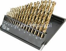Graphite Wiertła Do metalu HSS-TiN 1-10mm komplet 19sztuk 57H199