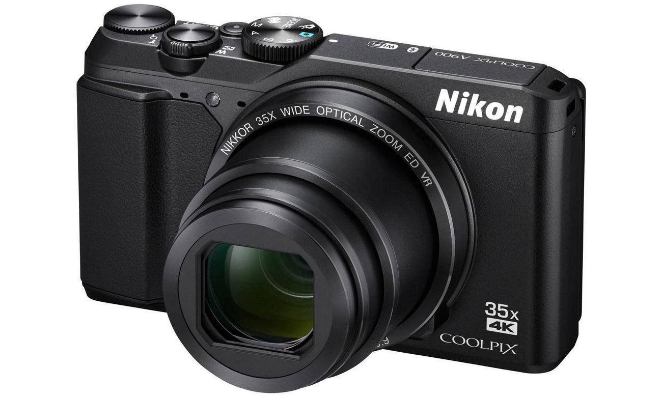 Aparat Nikon Coolpix A900 czarny obiektyw