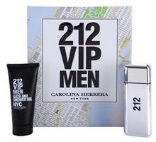 Carolina Herrera 212 VIP Men woda toaletowa 100 ml + żel pod prysznic 100 ml
