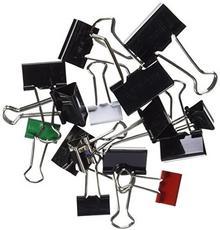 Maul Foldback 2157899 klipsy do papieru, 19/25/32 mm, różne kolory, worek 50 sztuk 22903127