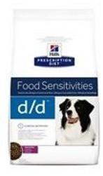Hills Prescription Diet Food Sensitivities D/D Duck&Rice Canine 12 kg
