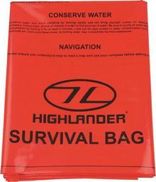 Highlander Worek Survivalowy 120x210cm Pomarańczowy