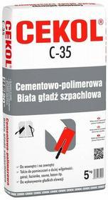 Cekol Biała masa szpachlowa C-35 5 kg