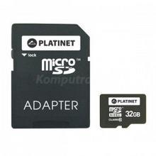 Platinet microSDHC 32GB class 10 Adapter SD